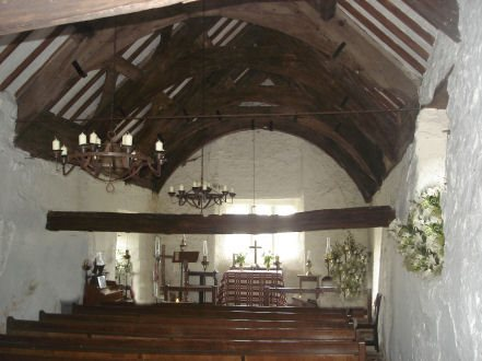 Early Medieval Churches The Early Medieval Roof Had