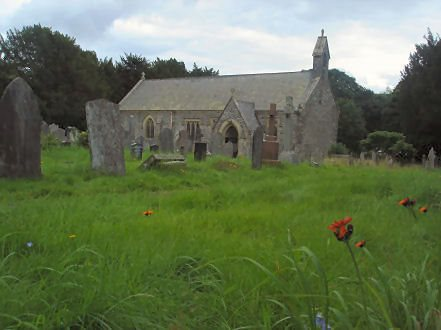 Llanycil Church Lake Bala