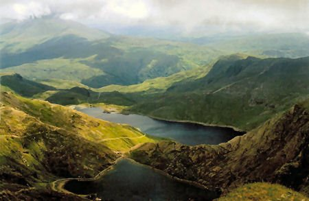Snowdon and Llyn Lydaw